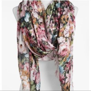 NWT Lulu Large Floral Scarf from Nordstrom